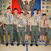 Brother Martin Celebrates its Crusader Eagle Scouts