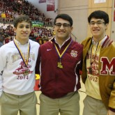 Wrestlers Named to 2015 All-New Orleans Area Team