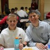 Alumni Dads Attend Freshmen Lunch