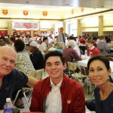 11th Grade Crusaders Welcome Grandparents for Lunch