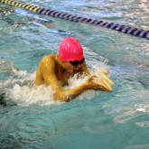 Crusaders Swim for Support in Breast Cancer Invitational