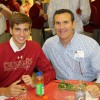 Alumni Dads Lunch with Sophomores