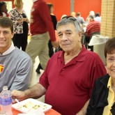 12th Grade Crusaders Welcome Grandparents for Lunch