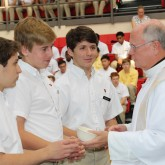 Crusaders Celebrate All Saints Day
