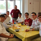 Alumni Office Host 1st Quarter Senior Lunch
