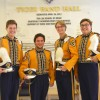 Crusaders Unite to Play in Tiger Band