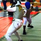 Cole Bondy '19 Places in Fencing Tournament