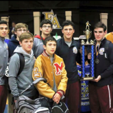 Crusaders Place 1st in Wrestling Invitationals