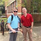 Brother Martin Alumni Day at UL-Lafayette