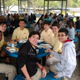 Student Ministers Visit SSA on Holy Thursday