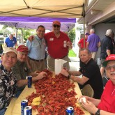 St. Aloysius Class of 1966 Gathers at Crawfish Boil