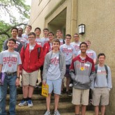 Crusaders Compete in State Rally