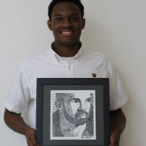 Dylan Walker '17 Participates in Art Exhibition