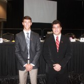 Broggi '16 and Quinonez '16 Honored at Sugarbowl Luncheon