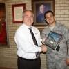 Brother Martin Receives Golden Eagle Award