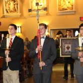 Crusaders Celebrate at Graduation Mass