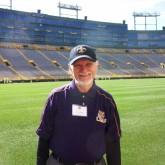 Bro. Neal Golden '57 CJ Travels to Lambeau Field