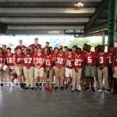 Crusader Football Players Recognized