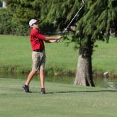 Crusader Golf Wins Against the Purple Knights