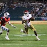 Crusaders Take Loss to Patriots at Zephyr Stadium