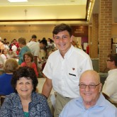 Class of 2018 Welcomes Grandparents to Lunch