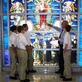 Brothers of the Sacred Heart History Comes to Life in Stained Glass…