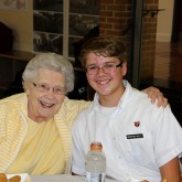 Class of 2021 Welcomes Grandparents to Lunch
