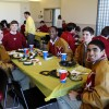 Seniors Treated to 2nd Quarter Lunch