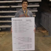Wrestling Completes Season at State