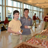 Crusaders Treated to Honor Roll Breakfast