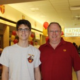 Seniors Celebrate with their Dads at Annual Dinner