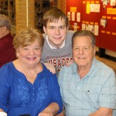 Class of 2017 Welcomes Grandparents to Lunch
