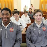 Wrestlers Gather at Mass for State Championship