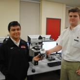Computer Science Students Program Robots