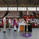 "Crusaders ""Return to the Lord"" at Lenten Liturgy"