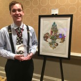 Andrew Butler '18 Earns 2nd Place in Art Contest