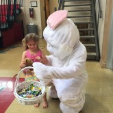 Easter Bunny Visits Brother Martin