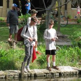 Fishing Club Competes in City Park Fishing Rodeo