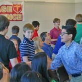 Incoming Crusaders Attend New Crusader Registration Day