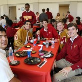 Seniors Treated to Third Quarter Lunch