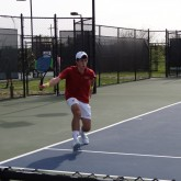 Tennis Wins Against Newman on Senior Day