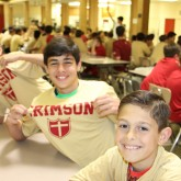 It was a 'Crimson & Gold Night' for Prospective Students