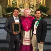 Crusaders Recognized as Archdiocesan Teen Leaders