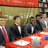 Crusaders Commit for Spring Signing Day 2017
