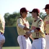 Baseball Secures Win Over Eagles
