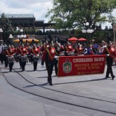 Crusader Band Performs in Walt Disney World