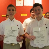 Crusaders Inducted into NJHS
