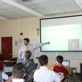 "Religion Students Learn about ""The Game of Life"""