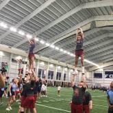 Cheerleaders Return from UCA Camp