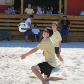 Crusaders Defeat Jesuit in Beach Volleyball Match-Up